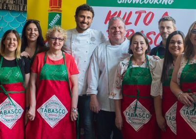 Showcooking Tabasco